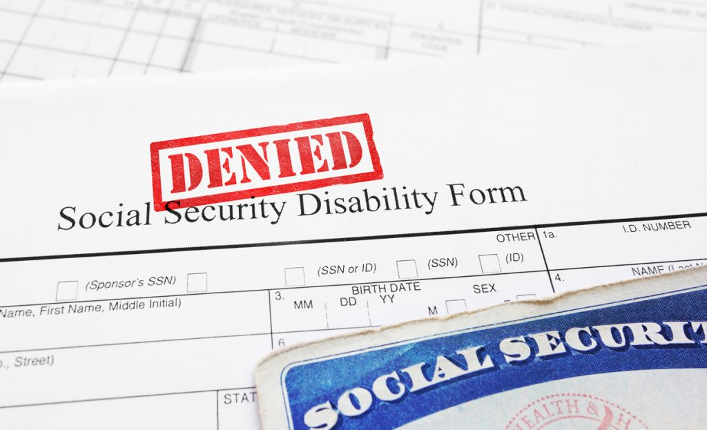 Call the Garner Law Firm if your SSDI or SSI application for benefits have been denied.